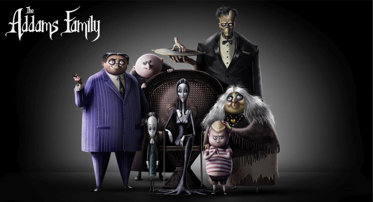 Addams Family Movie 2019 (animated)