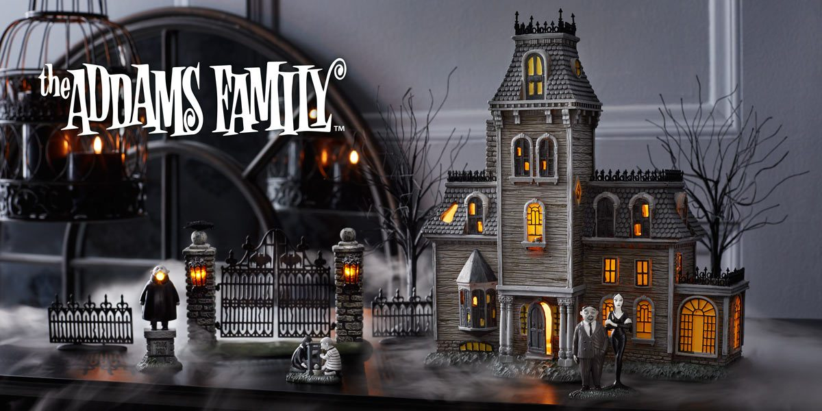 Department 56 Addams Family Village