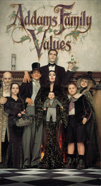 Addams Family Values Movie Cover
